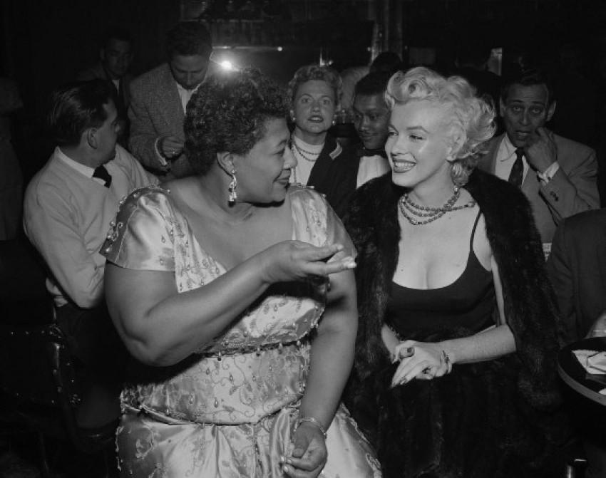 Ella Fitzgerlad i Marilyn Monroe