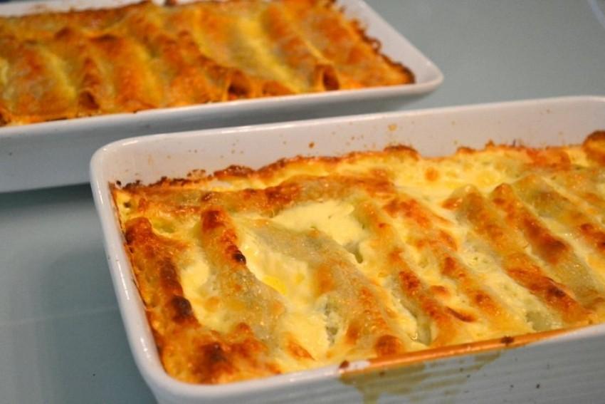 Cannelloni sa sirom i špinatom