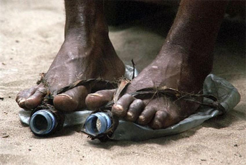 Cipele od boca u  Africi