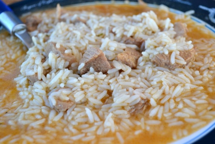 Teleći (ili juneći) rižoto
