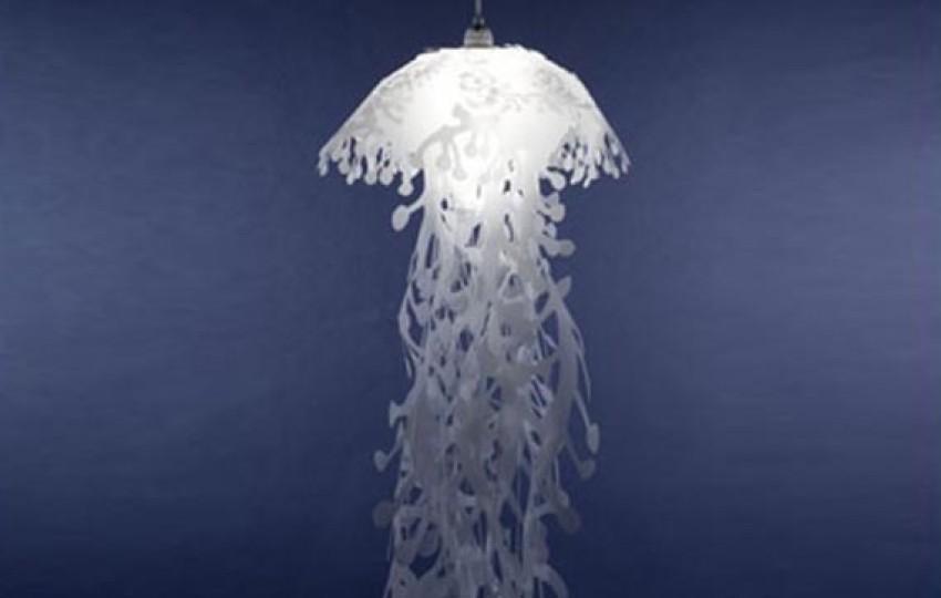 Kreativne svjetiljke u obliku meduza