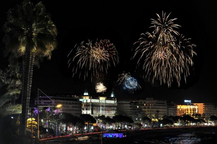 Vatromet na otvorenju MIPTV-a u Cannesu