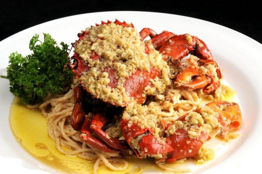 Špageti s rakovicama