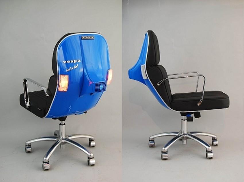 Uredite svoj dom sa Vespa stolicom koji je idealan za svaki dom i ured - stolica koa motor
