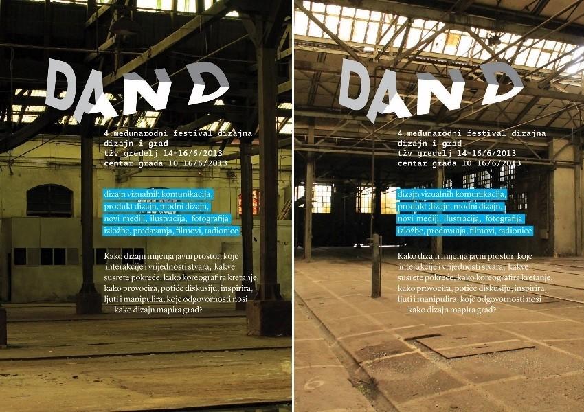 Dan D- festival je dizajna koji se sastoji od izložbi, pedavanja, instalacija, marketa i svega što slavi dizajn