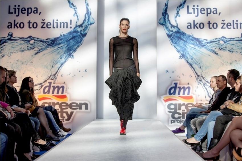 DM Greecity projekt i modna revija poznatih hrvatskih dizajner