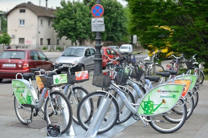 Rentaj bicikl / bike u Zagrebu