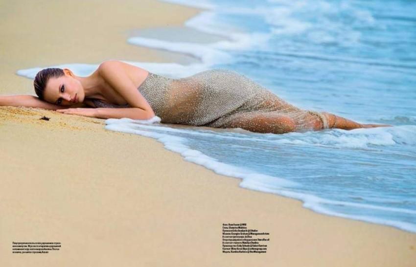 Karolina Kurkova za Ukrajinski Vogue