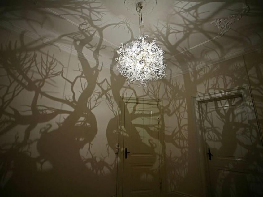 Tajne za uređenje vašeg doma - kretivni luster dizajnera Thyre Hilden i Pia Diaza