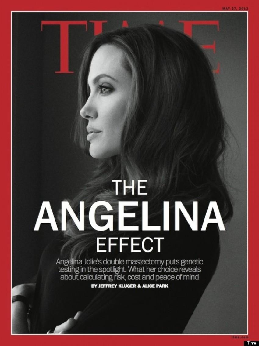 Angelina Jolie na naslovnici Time magazina