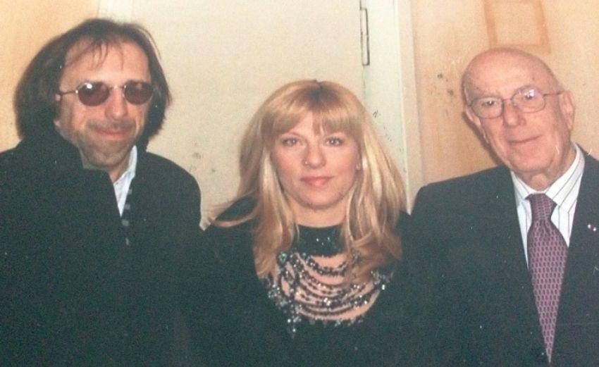 Goran Lelas, Suzy Josipović Redžepagić s Mariom Bosellijem čelnikom talijanske modne komore  u Milanu