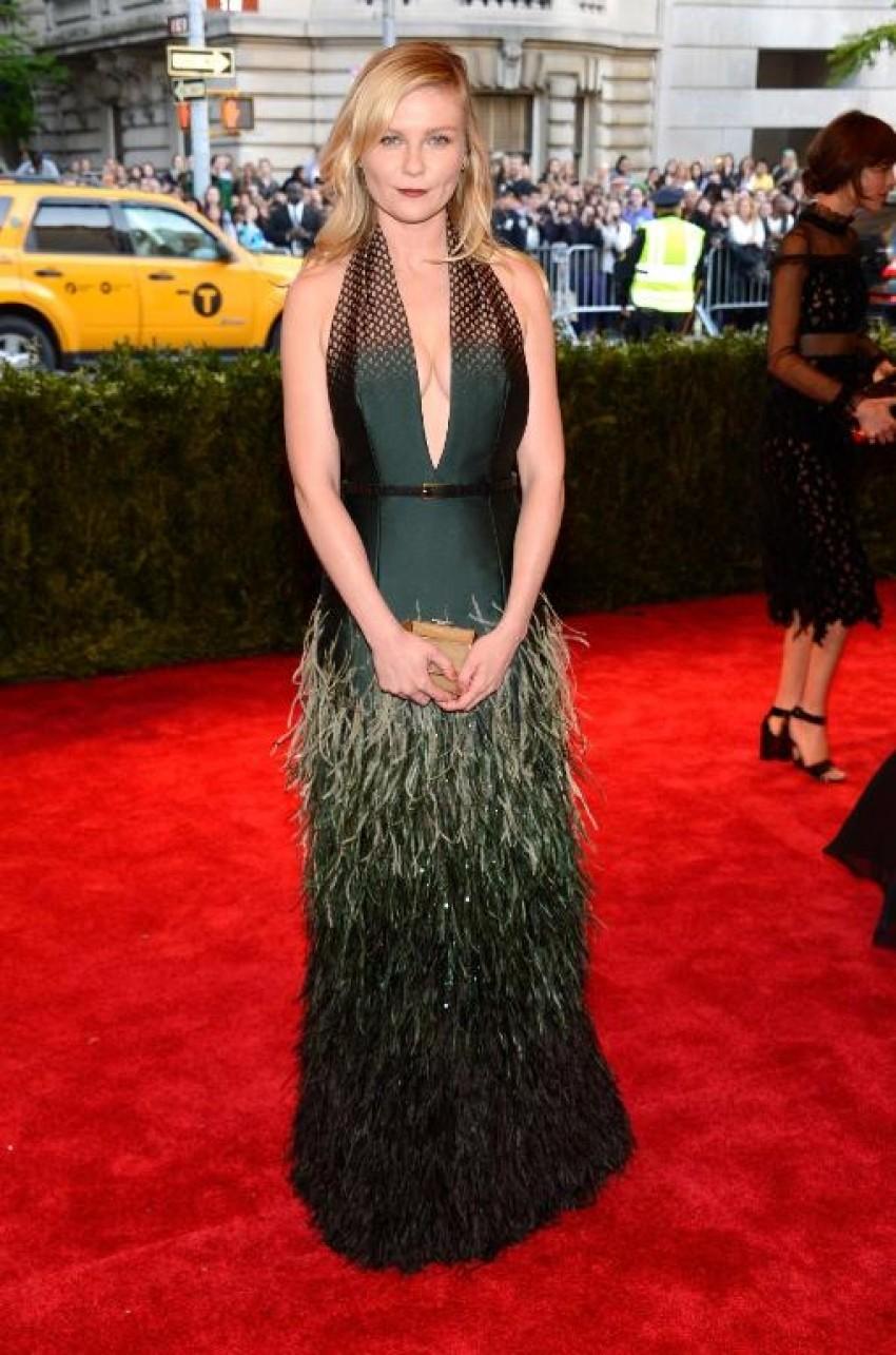 Kirsten Dunst u Louis Vuitton haljini