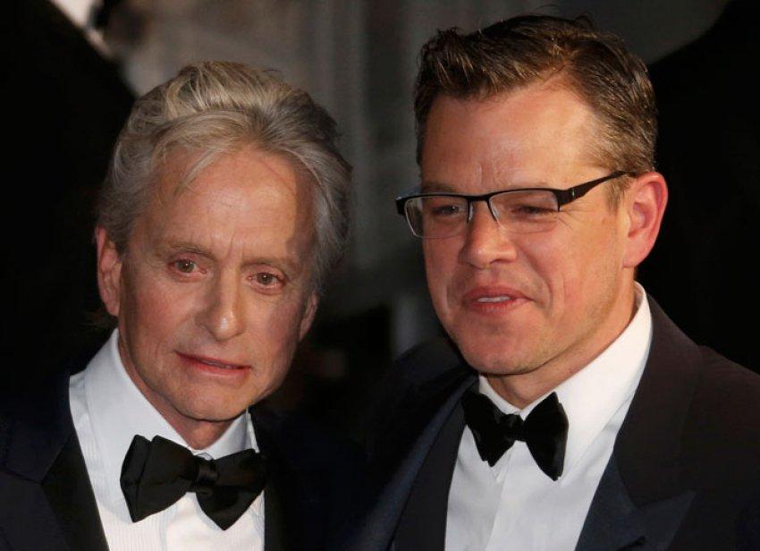Na Cannes film festivlau Michael Douglas i Matt Damon  prošetali su crvenim tepihom