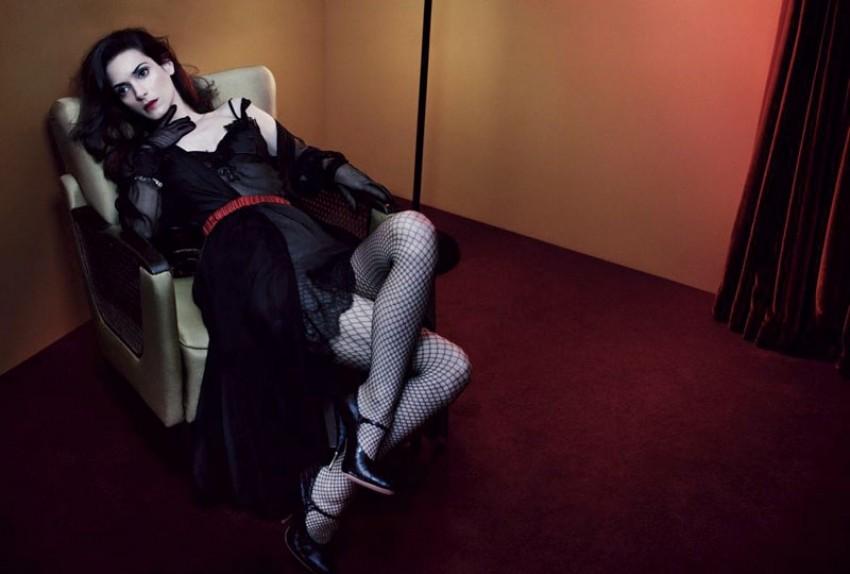 Winona Ryderu u časopisu Interview
