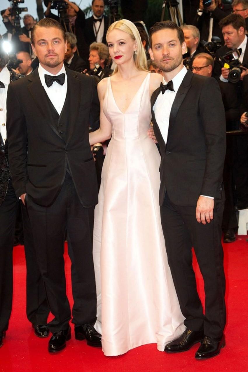 Tobey Maguire, Carey Mulligan i Leonardo DiCaprio