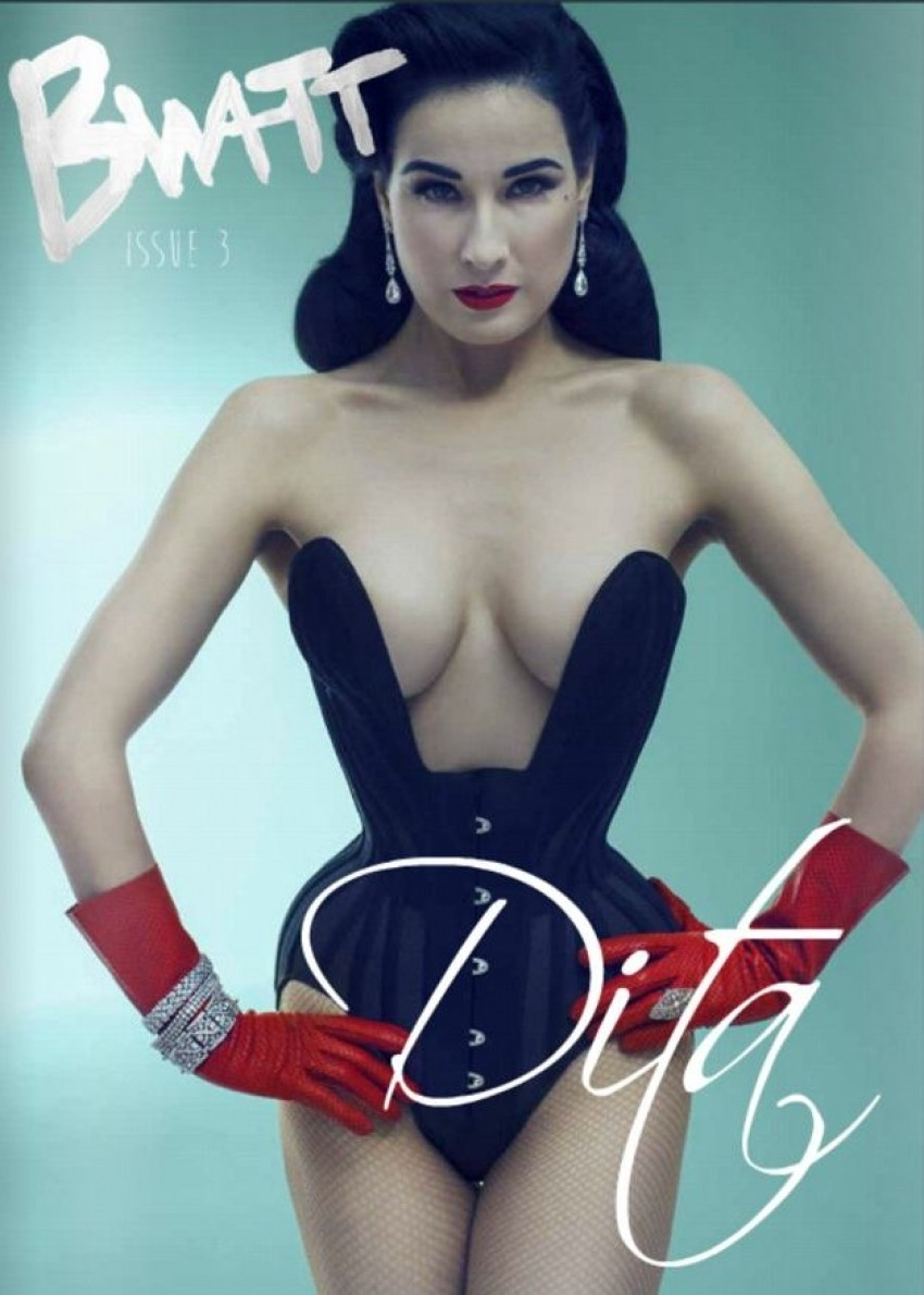 Dita von Teese za Bwatt časopis