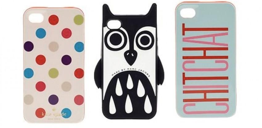 Dizajnerske maskice za pametne mobilne telefone, iPhone, Lagerfeld, Marc Jacobs, Kenzo, Lanvin i Moschino