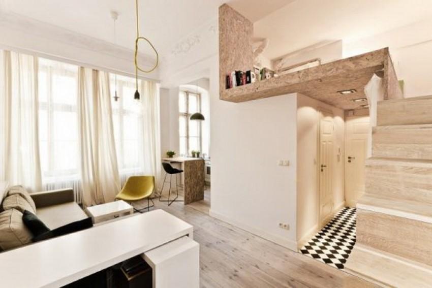 Dizajn stana od 29 m2