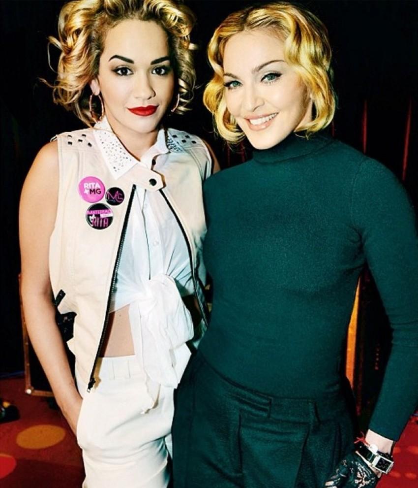 Rita Ora i Madonna