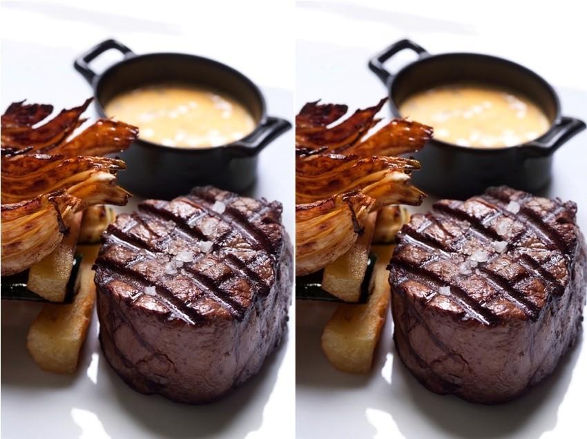 OXBO Urban bar & Grill restoranu DoubleTree by Hilton hotelu Zagreb biftek