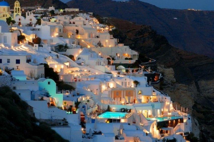 Katikies hoteli na Santoriniju