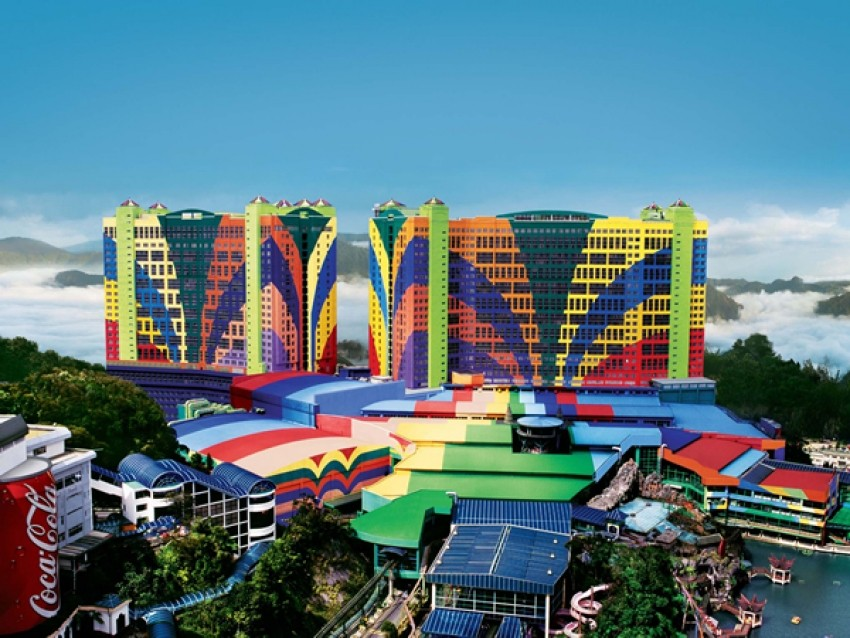 Najveći hoteli na svijetu - First World Hotel lista top 10 turističkih meka ogromnih -