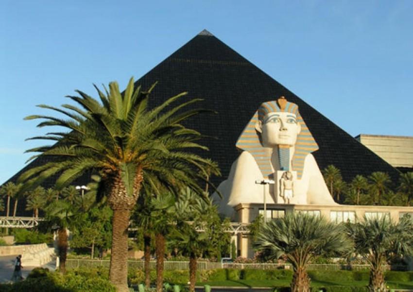 Najveći hoteli na svijetu - Luxor, Las Vegas lista top 10 turističkih meka ogromnih -