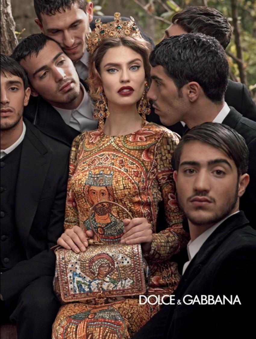 Dolce & Gabbana Jesen 2013.