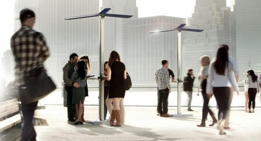 Stanice za punjenje mobitela u New York u