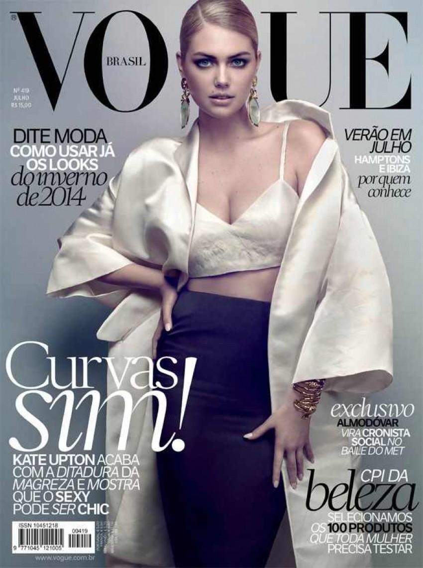 Kate Upton za Vogue Brazil