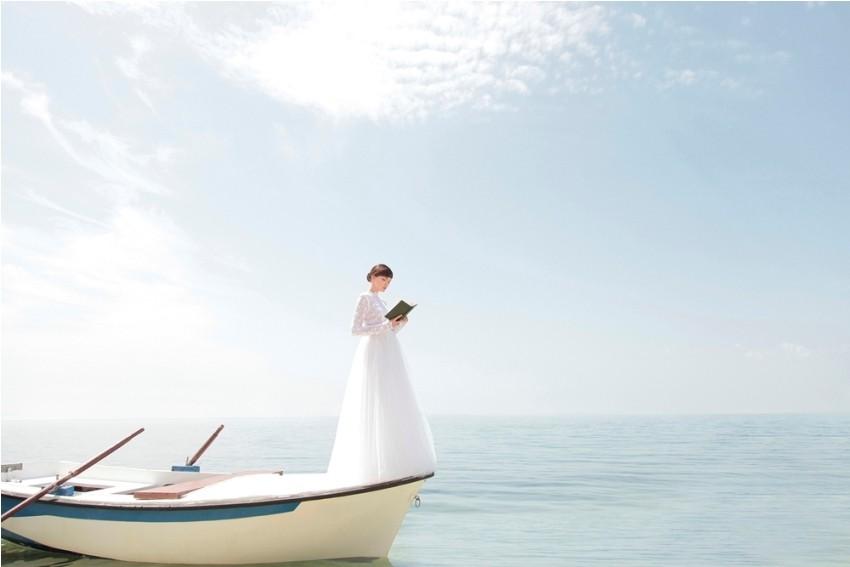 Kampanja za vjenčanice modnog dvojca eNVy room s/s 2013 - haljine za svadbe i mladenke