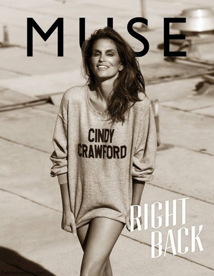 Cindy Crawford za časpis Muse