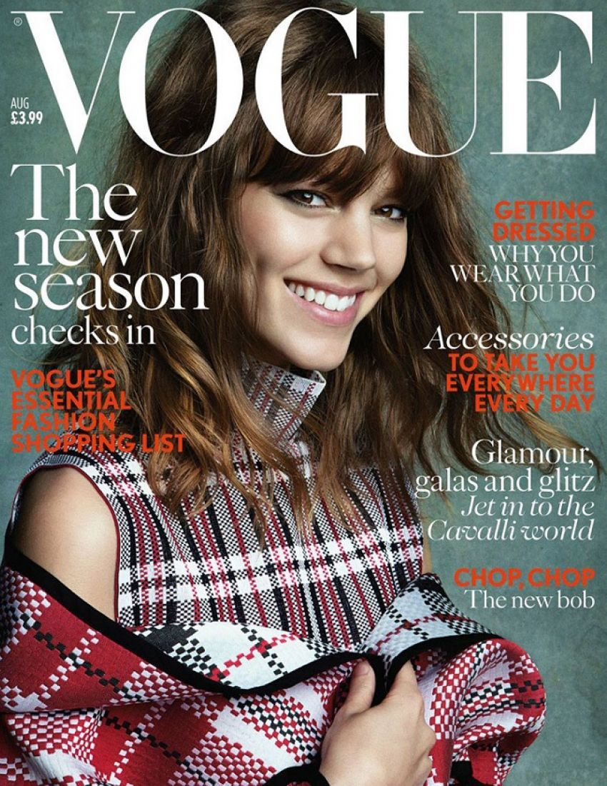Freja Beha Erichsen na naslovnici Voguea