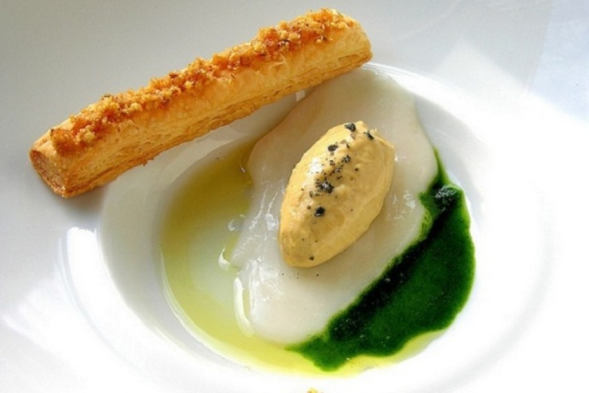 Sladoled od gušće jetre (Foie Gras)