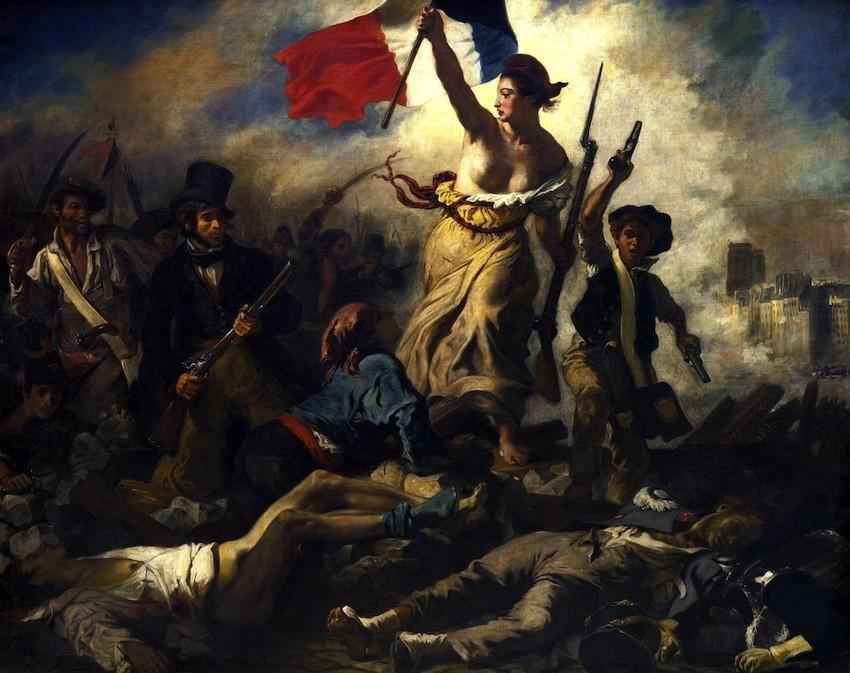 Sloboda vodi narod - Eugene Delacroix