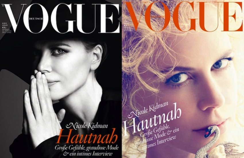 Nicole Kidman za njemački Vogue