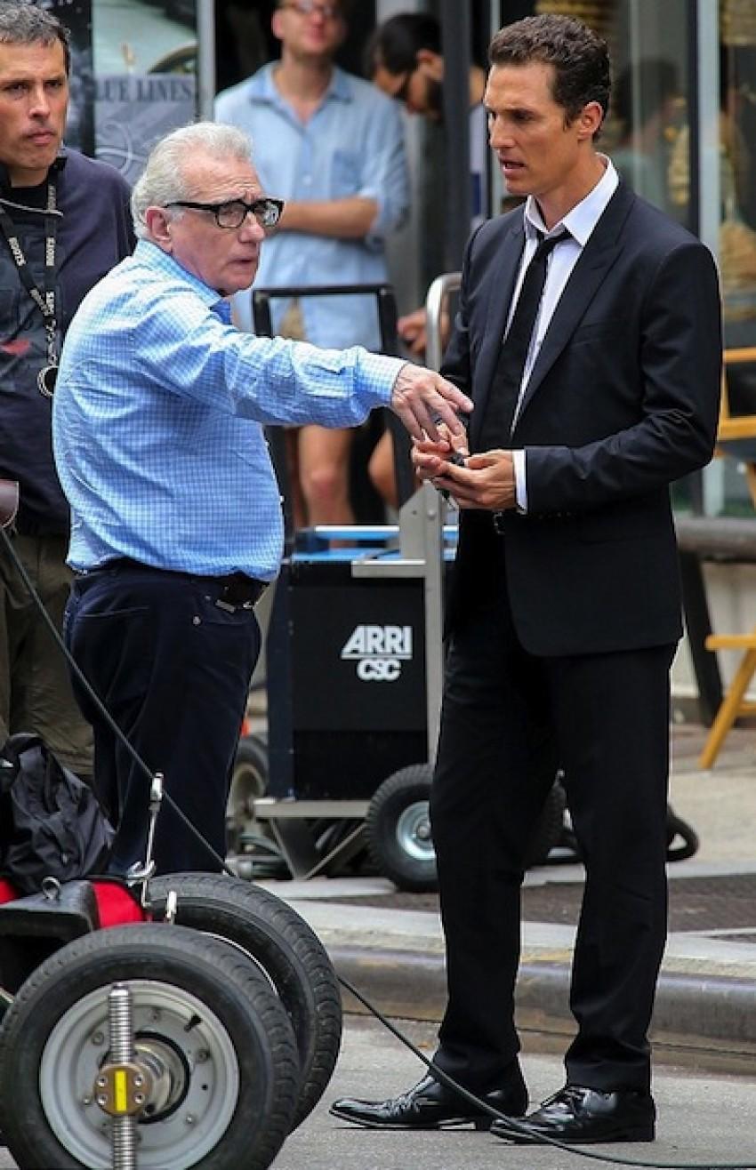 Matthew McConaughey i Martin Scorsese