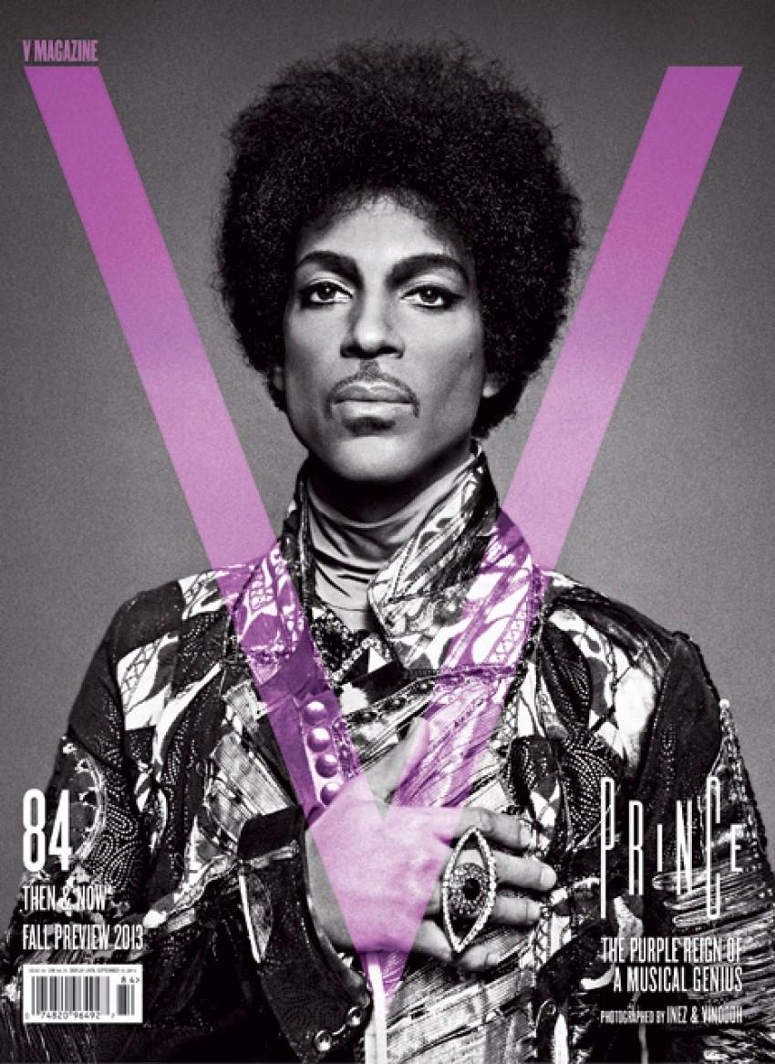 Prince na naslovnici časopisa V