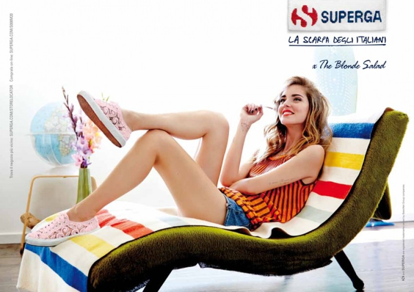 Superga & The Blonde Salad