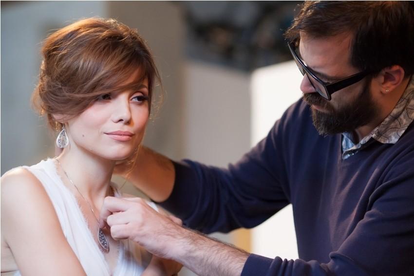 Lejjla Filipović na snimanju vizuala za Zlatarnu Križek