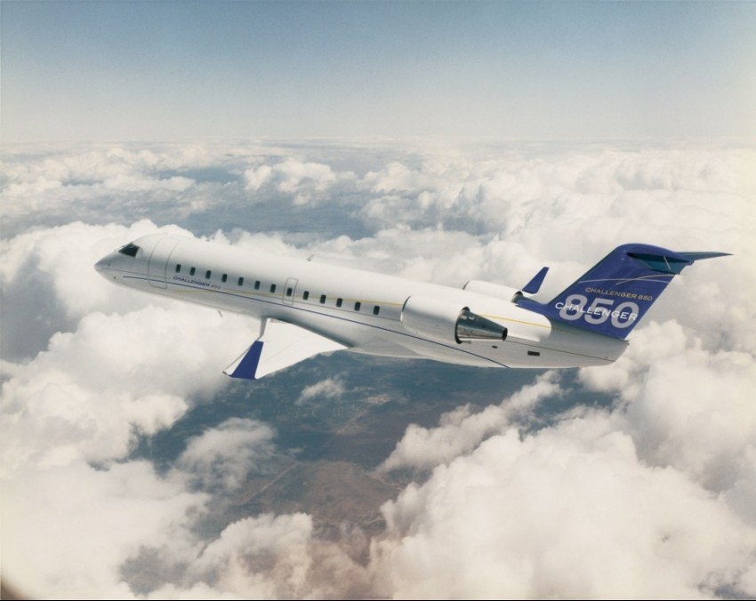 Bombardier Challenger 850 Jay Z-a