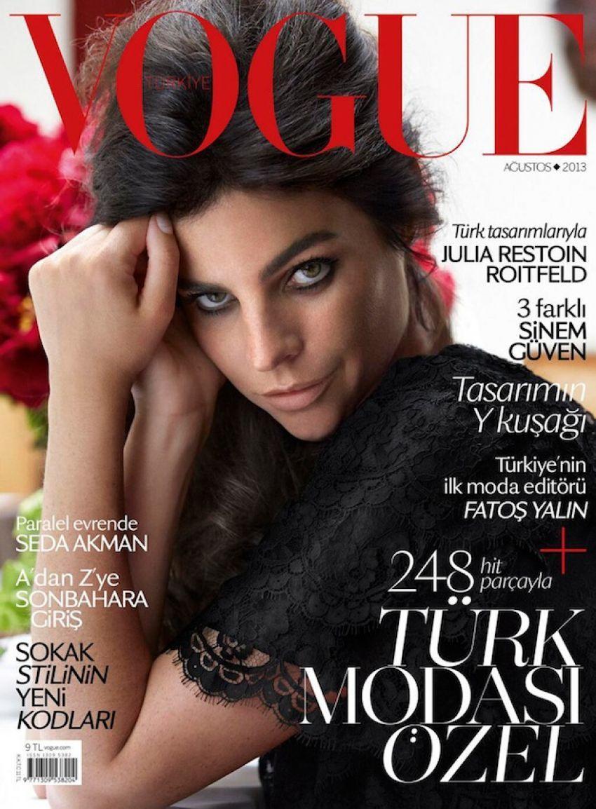 Julia Restoin Roitfeld na naslovnici Voguea