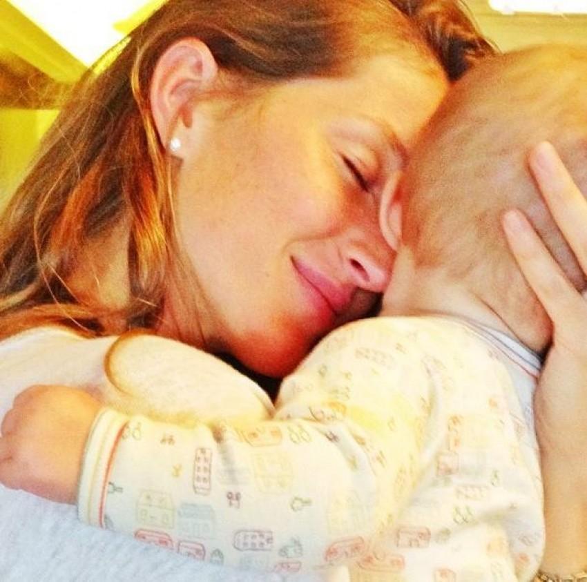 Gisele Bundchen s kćerkicom Vivian