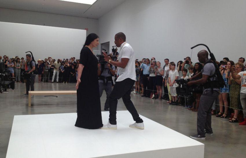Jay -Z i Marina Abramovič