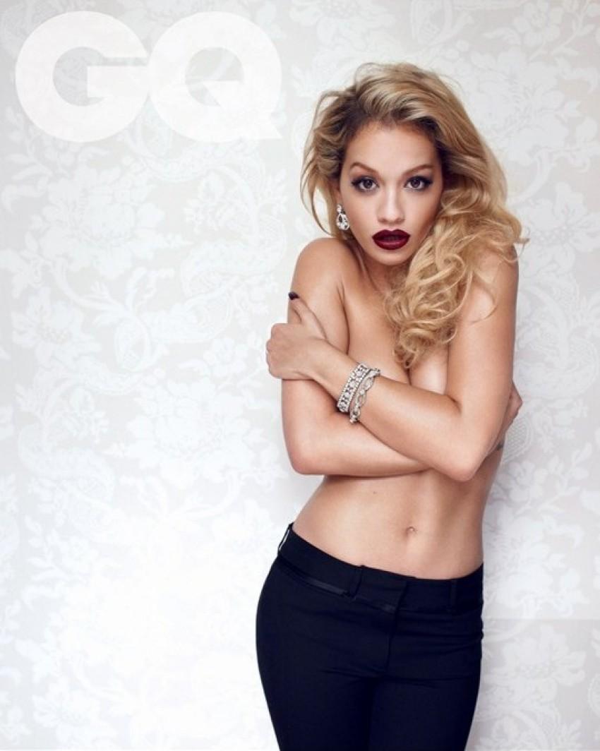 Rita Ora za britanski GQ