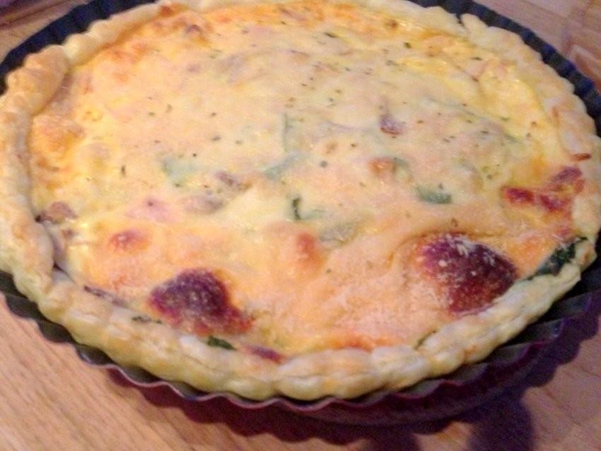 Quiche (pita) od blitve i mozzarelle