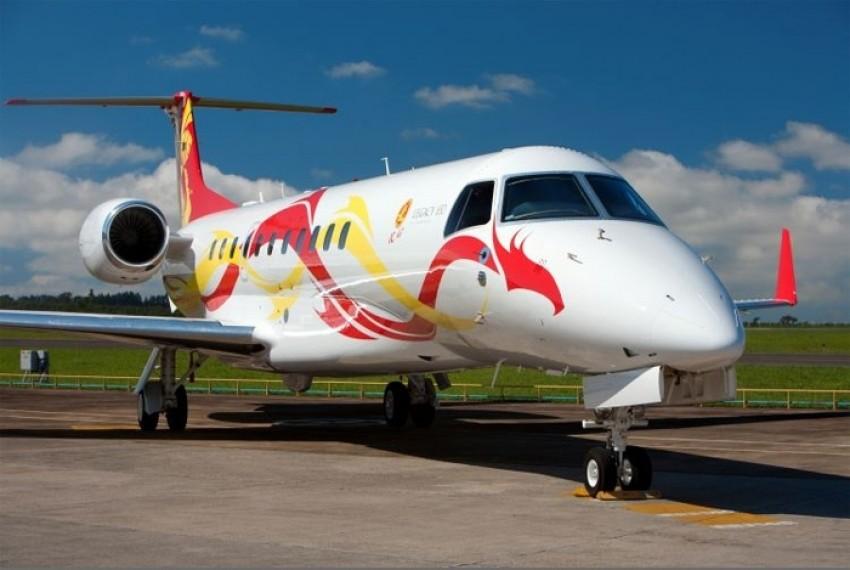 Embraer Legacy 650 Jackie Chana