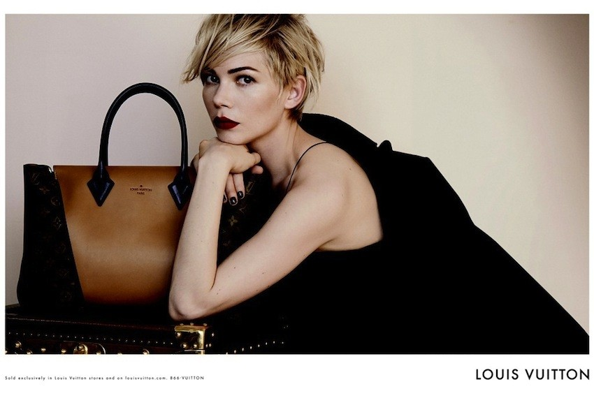 Michelle Williams za Louis Vuitton