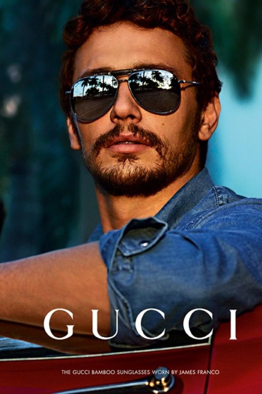 James Franco za Gucci