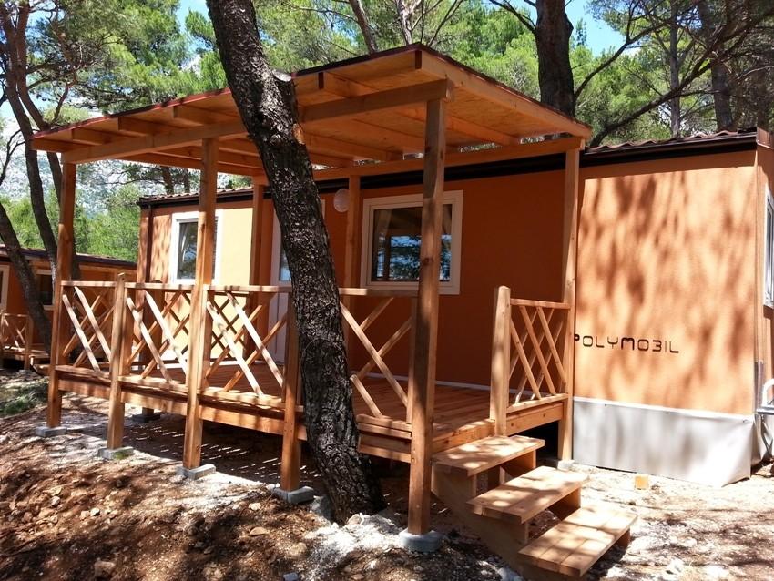Mobilne kućice u Adriatic kampu Perna Baško Polje